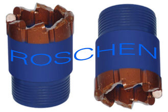 High Speed Rock PDC Core Bits / NQ HQ PQ Carbide Core Drill Bits